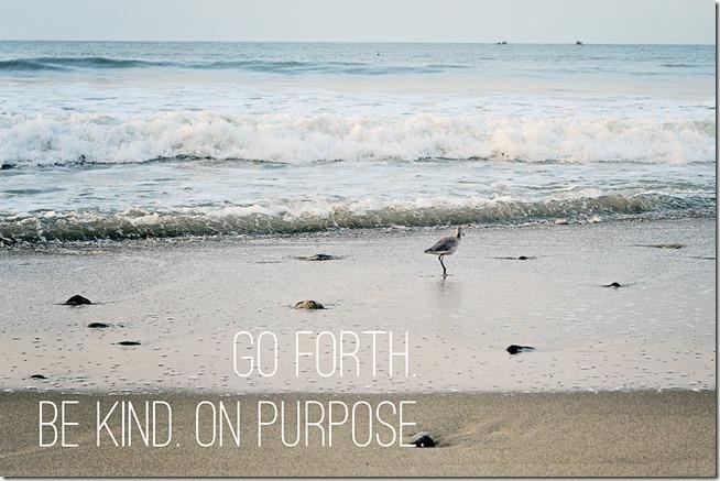 be kind on purpose copy