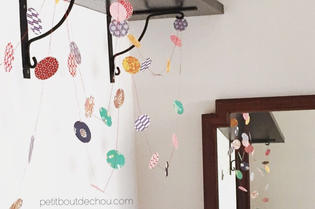 japanese paper garland origami paper