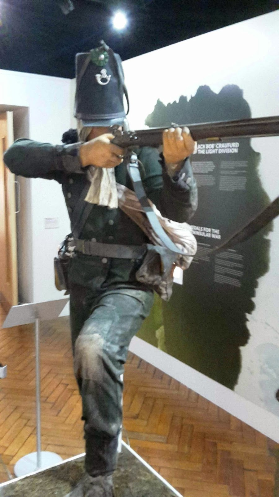 Napoleonic Wargaming Blog: Royal Green Jackets Museum - Waterloo ...