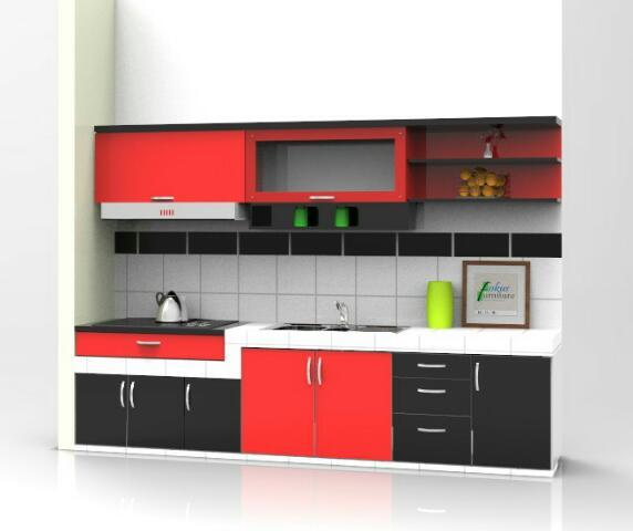 Kitchen Set Project Di Cimanggu Bogor Furniture Kitchen Set
