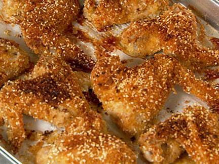 Crunchy Sesame Chicken Wings