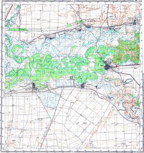 Уменьшенное изображение Карта 100k--m39-023