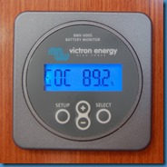 Stato di carica in percentuale delle batterie