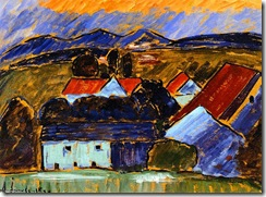 Alexei-Jawlensky-Landscape-with-Red-Roof