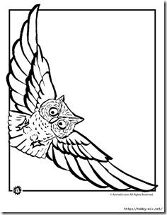 dibujos de buhod en blanco y negro (25)