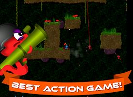 Screenshot of Annelids: Worms battle