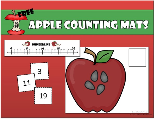 apple-counting-mats-preschool-kindergarten