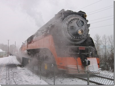 IMG_4798 Southern Pacific Daylight GS-4 #4449 at Oaks Park in Portland, Oregon on December 14, 2008
