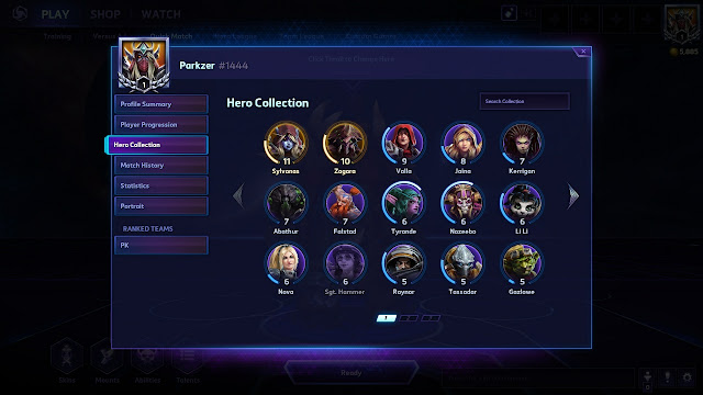 Parkzer - Heroes of the Storm - Hero Collection