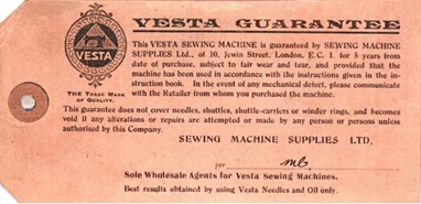 garantia Vesta