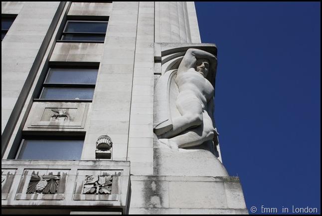 Adelphi statues
