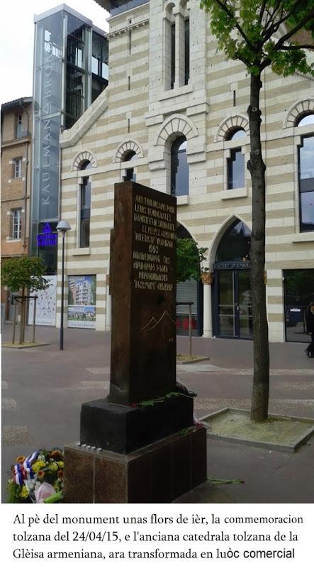 commemoracion armeniana a Tolosa 1