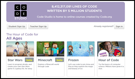 Websites to teach students how to begin learning how to write computer code. Suggestions from Raki's Rad Resources. Studio Code