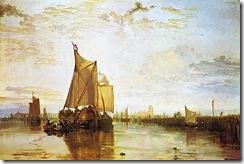 Dort_the_Dort_Packet_Boat_from_Rotterdam_Bacalmed_ca_1818