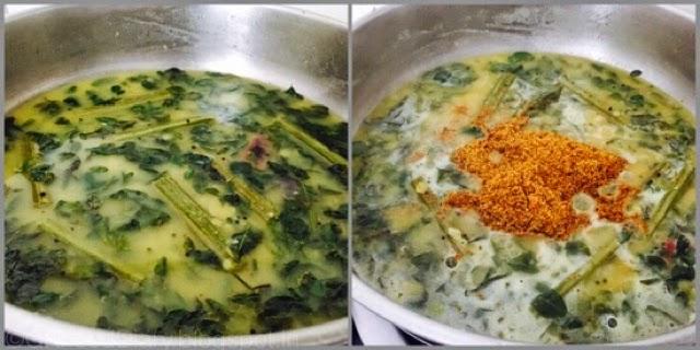 Poricha Kuzhambu Recipe| Drumstick leaves Poricha Kulambu|kuzhambuRecipes 6