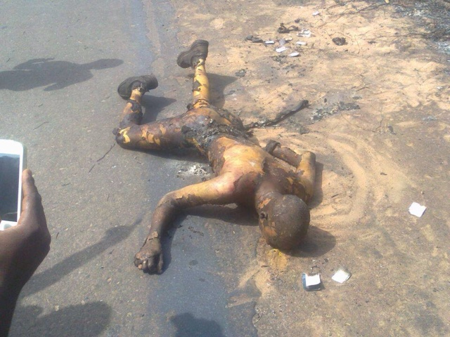 PHOTOS: Over 100 Die In Nnewi Gas Plant Explosion 5