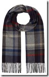 John Lewis cashmink check scarf