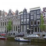 Prächtige Häuser am Herengracht / Шикарные дома на Господском канале