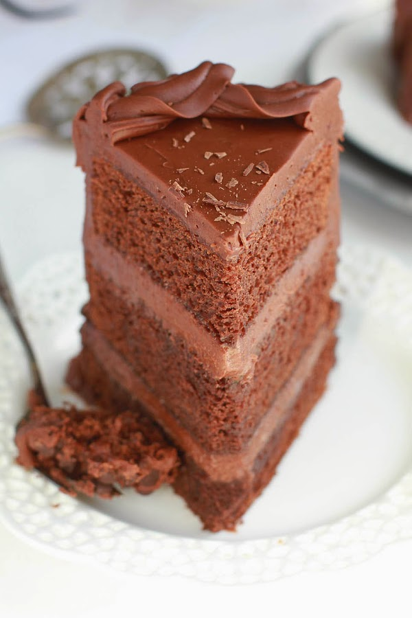 Ultimate Triple Chocolate Layer Cake is super chocolatey and decadent.jpg