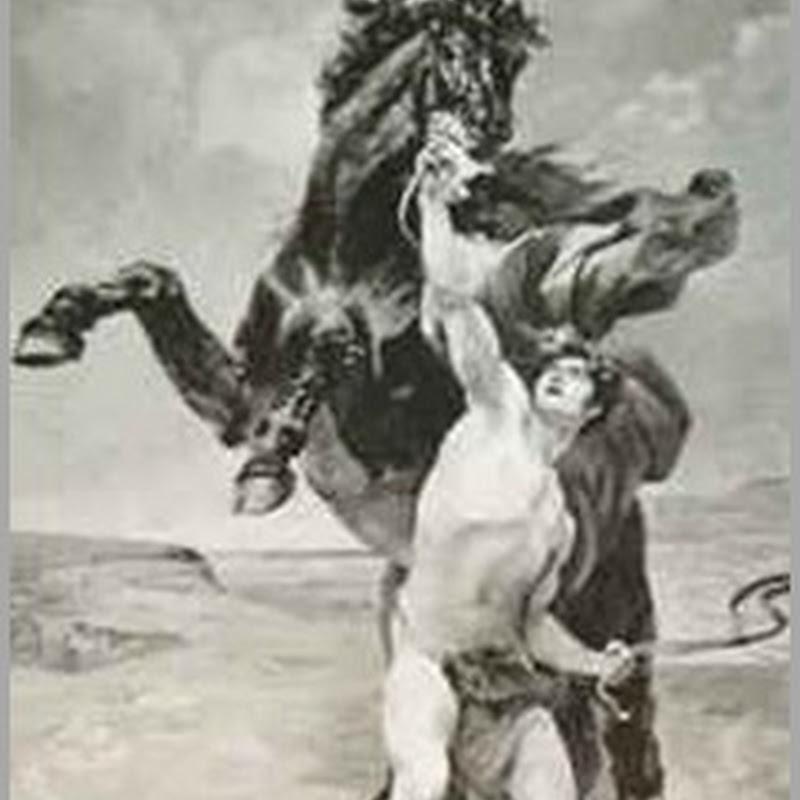 Servos a Cavalos, e os Príncipes como Servos