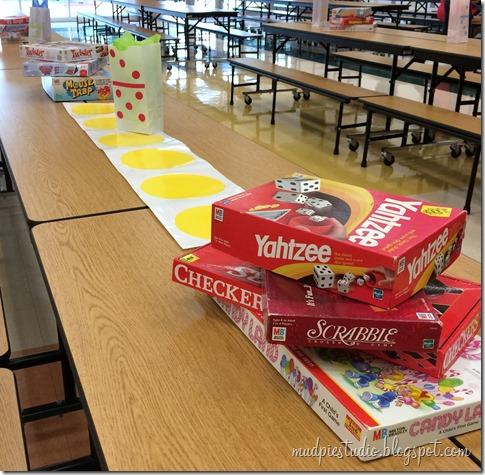 Classic Board Game Theme Teacher Breakfast