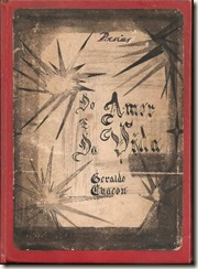 Capa do livro Poesias Amoe vida artezanal