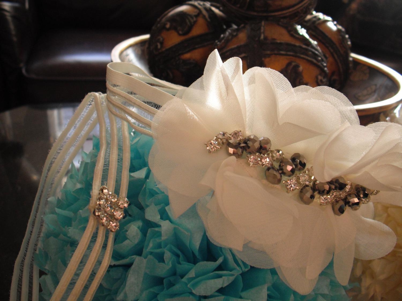 Bridal Garter Belt, The Pure Innocence, a set of two garter belts