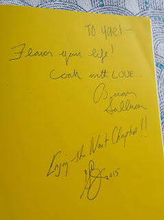 CPK Cookbook inscription