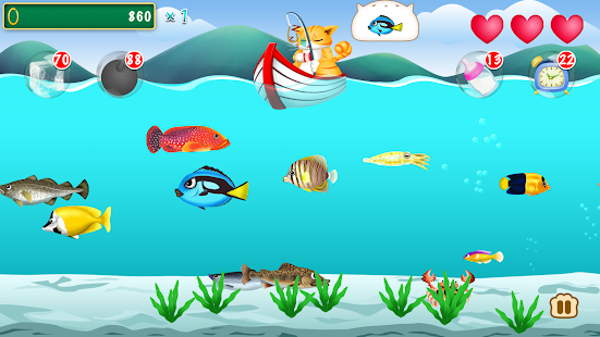 Game fishing cat garfield edition apk for windows phone for Fish game for cats