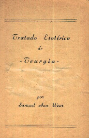 Cover of Samael Aun Weor's Book Tratado Esoterico de Teurgia (in Spanish)