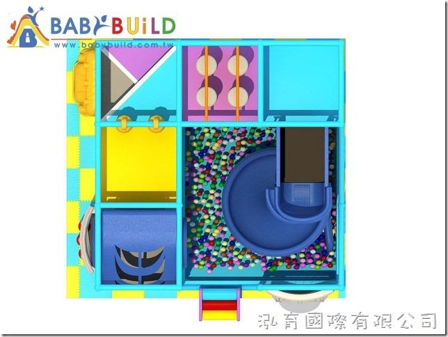 BabyBuild 室內3D泡管遊戲設施