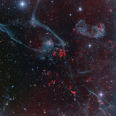 remanescente de supernova Puppis A