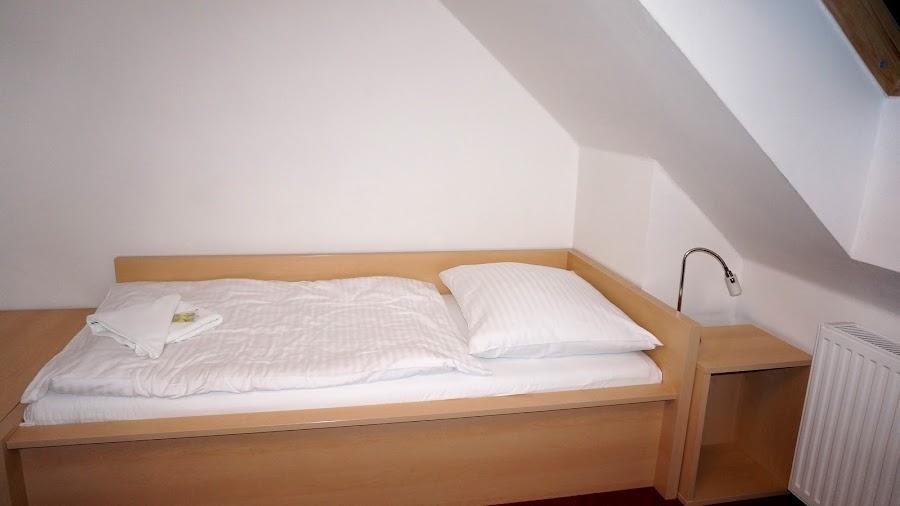 4-местный двухуровневый номер в отеле Penzion Krumlov