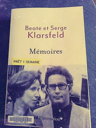 beate et serge Klarsfeld mémoires