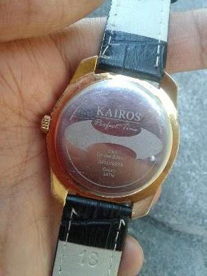 Wismasarjana Jam Tangan Arloji Kairos Gold