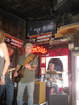 A band playing at Tootsie's bar in Nashville TN 07252012-03