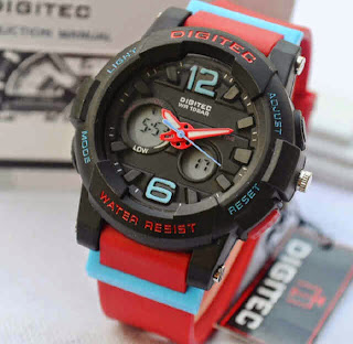 jam tangan Digitec DG2073 4lady red