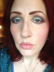 Wearing NYX Cosmetics Prismatic Eyeshadows Look 3_1