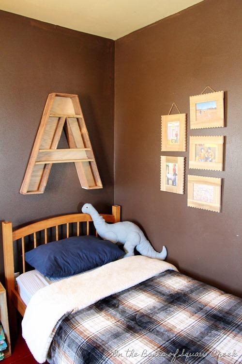 Letter A Shelf