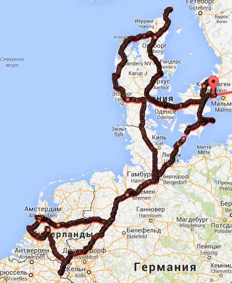 Europe-2014-route