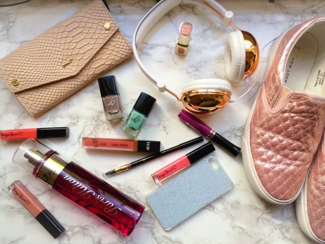 beauty-blog-haul-fashion-paul-costelloe-tkmaxx-purse-newlook-new-look-pink-trainers-tanya-burr-lipgloss-nail-polish-paris-hilton-perfume-primark-miss-sporty-makeup-revolution-cosmetics-superdrug-loreal-lipstick-boots