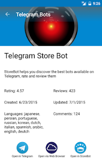 App Telegram Bots apk for kindle fire