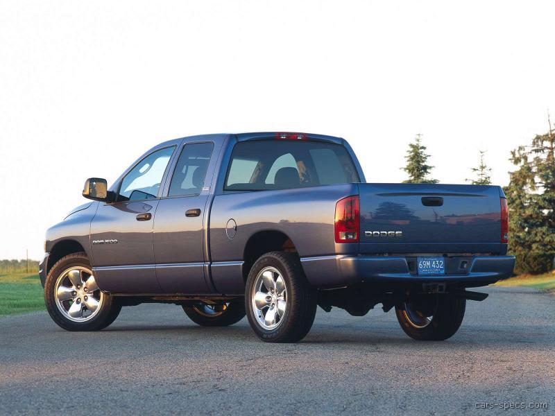2005 Dodge Ram Pickup 3500 Diesel Specifications