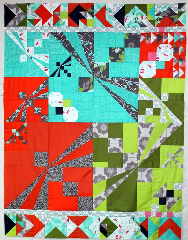 Flight School Quilt Top