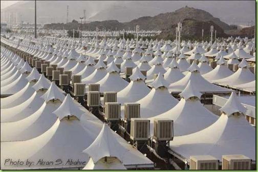 tent city saudi