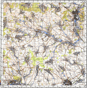 Map 100k--m36-099--(1989)