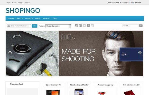 shopingo-blogger-template