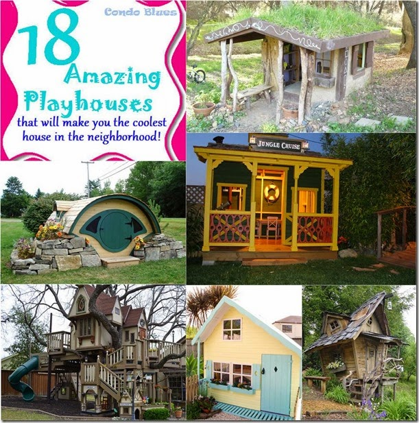 18 unusual playhouses