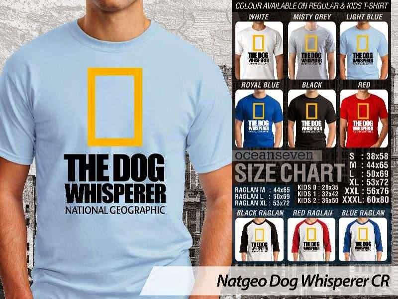 Kaos National Geographic NatGeo Dog Whisperer distro ocean seven