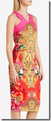 Ted Baker paisley toucan midi dress